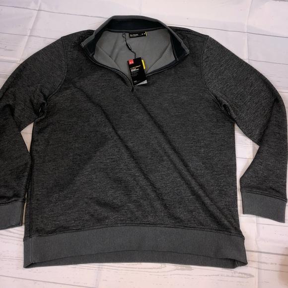 89a6c4672eae Mens Under Armour Storm SweaterFleece ¼ Zip XL NWT